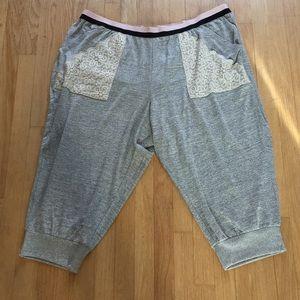 Cacique Capri Pajama Bottoms Size 26/28 NWT